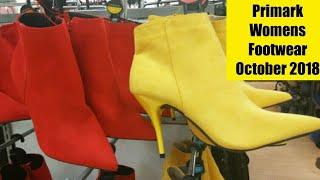 Primark Womens Footwear October 2018