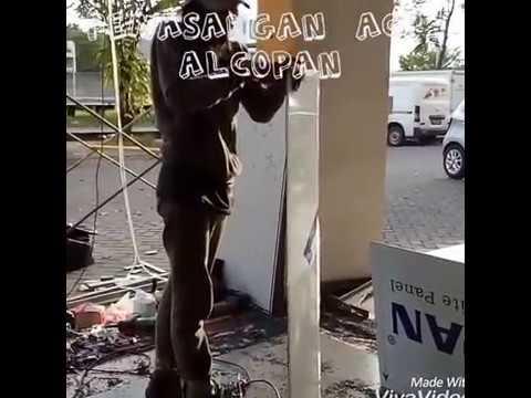 Cara Pemasangan Acp ALCOPAN, cara memasang acp, cara pemasangan acp
