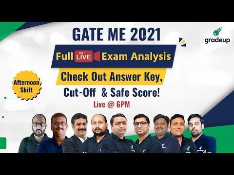 GATE Mechanical Full Exam Analysis & Answer Key | Live 14th Feb Shift 2 | Do not Miss! | Gradeup