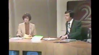 2/14/1980 WJBK Channel 2 Newscast partial Detroit Michigan