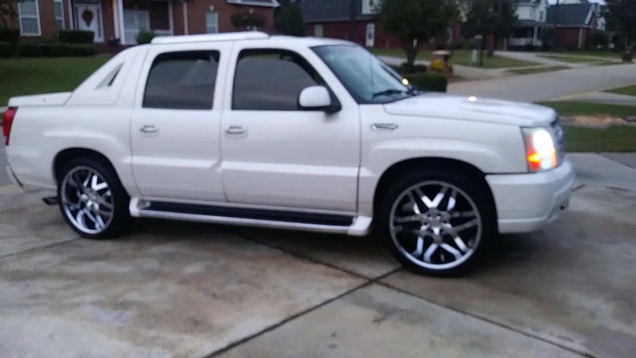 cadillac escalade ext on 24s for sale youtube cadillac escalade ext on 24s for sale