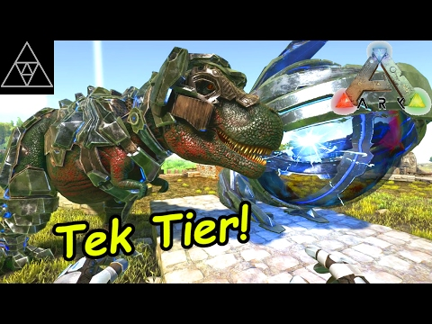 how to wear tek armor ark