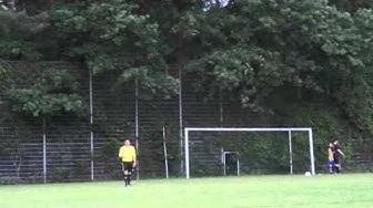 11m-Schießen Achtefinale Uni-Cup Bamberg: Dynamo Treffnix vs. Bockbiertruppe