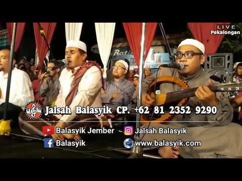 Penonton merinding..suara Mustafa Balasyik overlap!! VIRALKAN JALSAH BALASYIK live Pekalongan