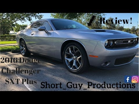 2016 Dodge Challenger SXT Plus review. Who said you can't have fun in a v6