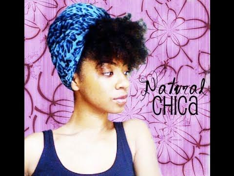 Natural Hair Turban Style QUICK NATURAL HAIR STYLE