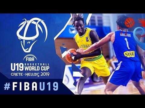 Australia def. Gilas Pilipinas Youth, 82-60 (REPLAY VIDEO) 2019 FIBA U19 World Cup