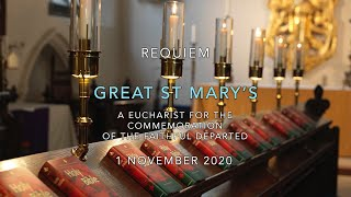 Choral Requiem Eucharist for the Commemoration of the Faithful Departed