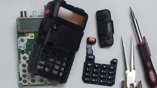 Baofeng UV-5R UV5R Disassembly Teardown : Eye-On-Stuff(In this video I will show you how to disassemble the Baofeng UV-5R dual band ham radio. This is a complete tutorial including re-assembly. Eye-On-Stuff ..., 2015-04-01T20:02:22.000Z)