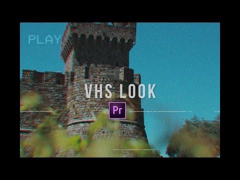 VHS Camera Look (Premiere Pro CC 2017 Tutorial)