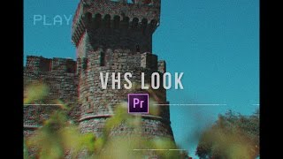 VHS Camera Look (Premiere Pro CC 2017 Tutorial)