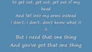 One Direction One Thing Acoustic LYRICS
