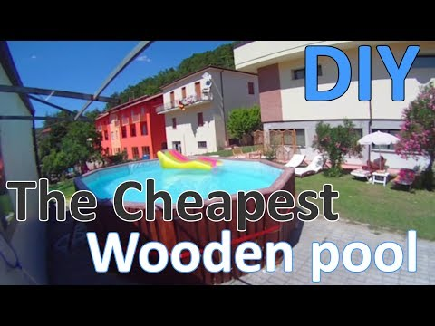 DIY | The Cheapest Wooden Pool