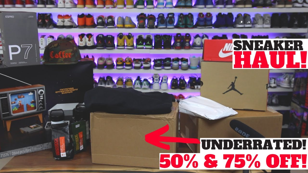 UNDERRATED NIKE SNEAKERS 50% & 75% OFF! + LEGO NES, REEBOK GIFT & MORE!