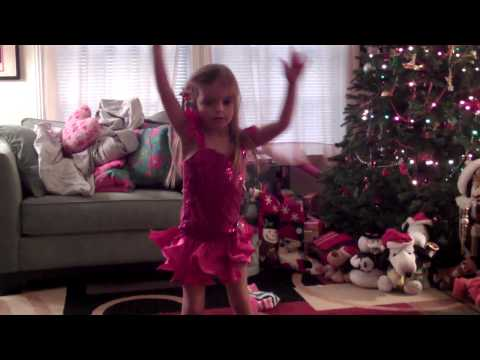 I THINK I'M GONNA LIKE IT HERE  Annie Dance by Cute 4Year Old