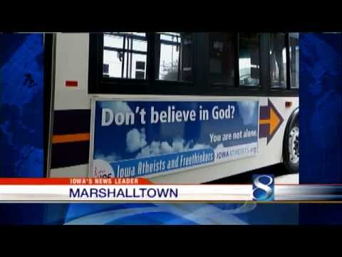 Atheist Bus Ads - Des Moines, IA - Iowa Atheists and Freethinkers - Local news