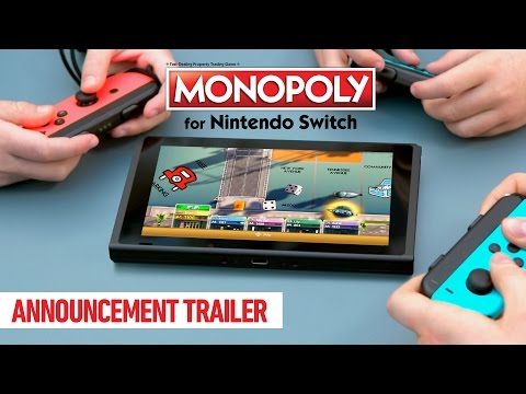 Monopoly for Nintendo Switch Announcement Trailer