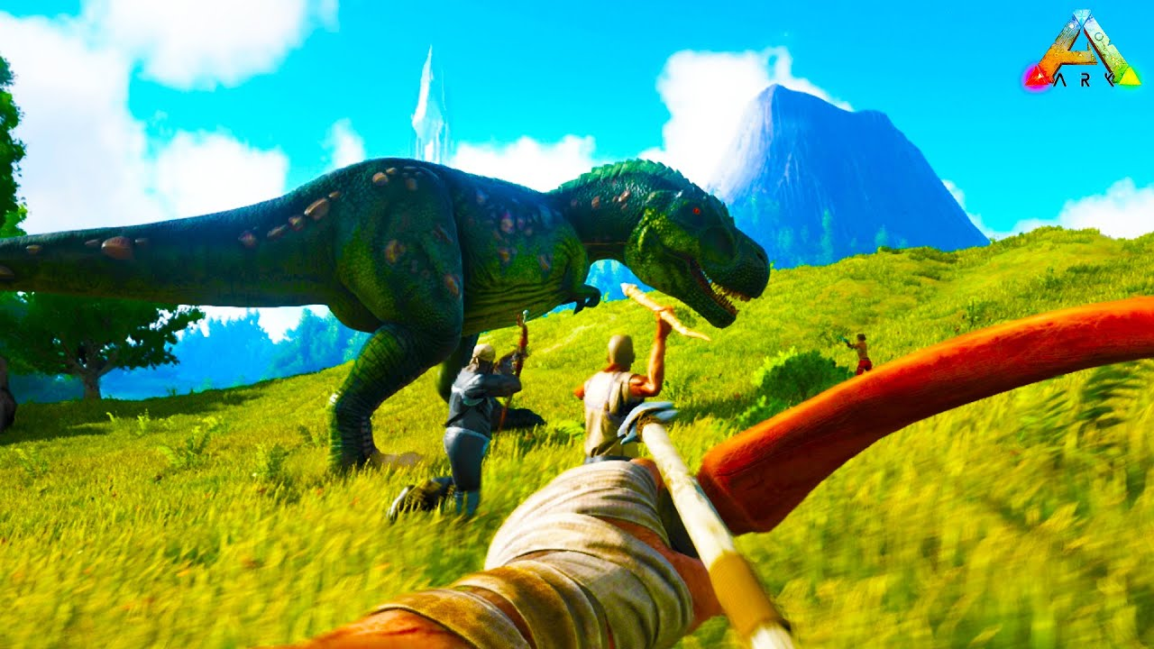 ARK Survival Evolved: THE DINO HUNTER! Episode 1   1080P 60FPS Livestream  Gameplay   YouTube