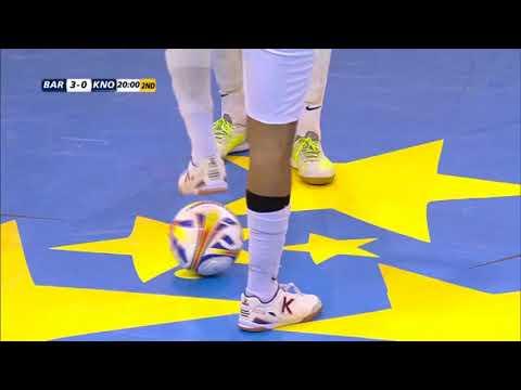 Samwnvatting Barcelona vs zvv 't Knooppunt UEFA futsal Cup 2018