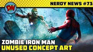 Doctor Doom Movie, Thor 4, Endgame Easter Egg, FFH Unused Concept Art   Nerdy News #73