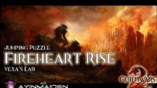 ★ Guild Wars 2 ★ - Jumping Puzzle - Fireheart Rise (Vexa