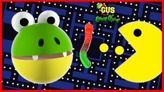Giant IRL Pac man Let's Play with Gus