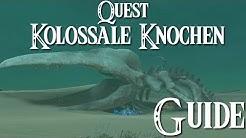 ZELDA: BREATH OF THE WILD - Quest - Kolossale Knochen Guide