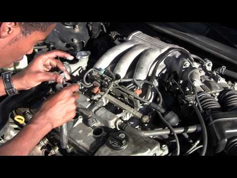 change lexus es300 spark plugs (the easy 3) youtube  diagram of coil pack on 96 lexus es300 #6