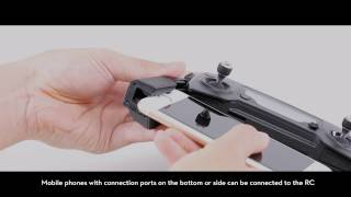 How to Connect DJI Mavic Pro to A Mobile Device