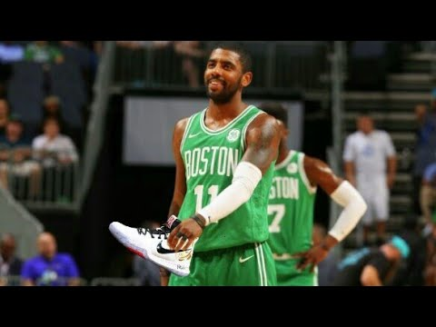 0ca8bcb7b TOP 5 TIMES Kyrie Irving GIVES shoes and jersey to his fans - YouTube