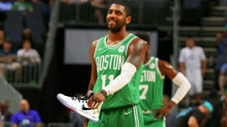 TOP 5 TIMES Kyrie Irving GIVES shoes and jersey to his fans