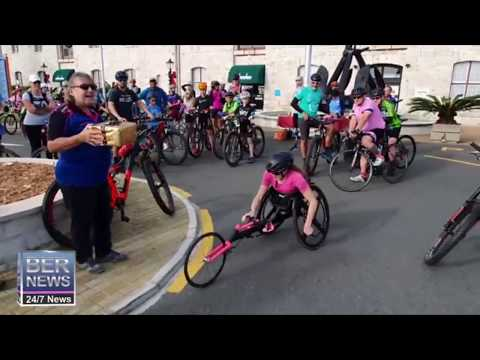 Pedal For Paralympics Event Gets Underway, Jan 12 2020