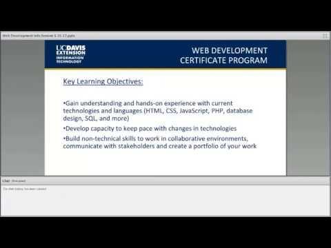 Web Development Certificate Program Information Session 5/25/17 ...
