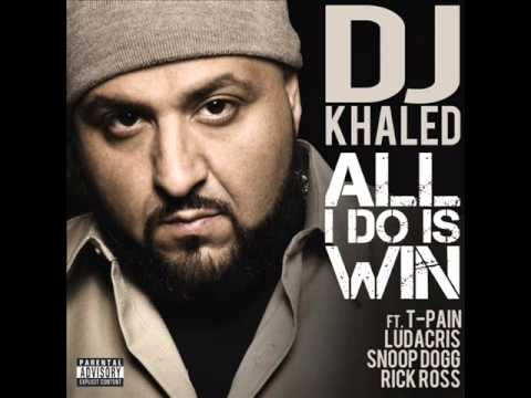 DJ Khaled Ft. T-Pain, Ludacris, Rick Ross & Snoop Dogg - All I Do Is Win