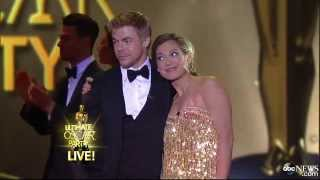 Ginger Zee Wows in Oscar Worthy Dance With Derek Hough