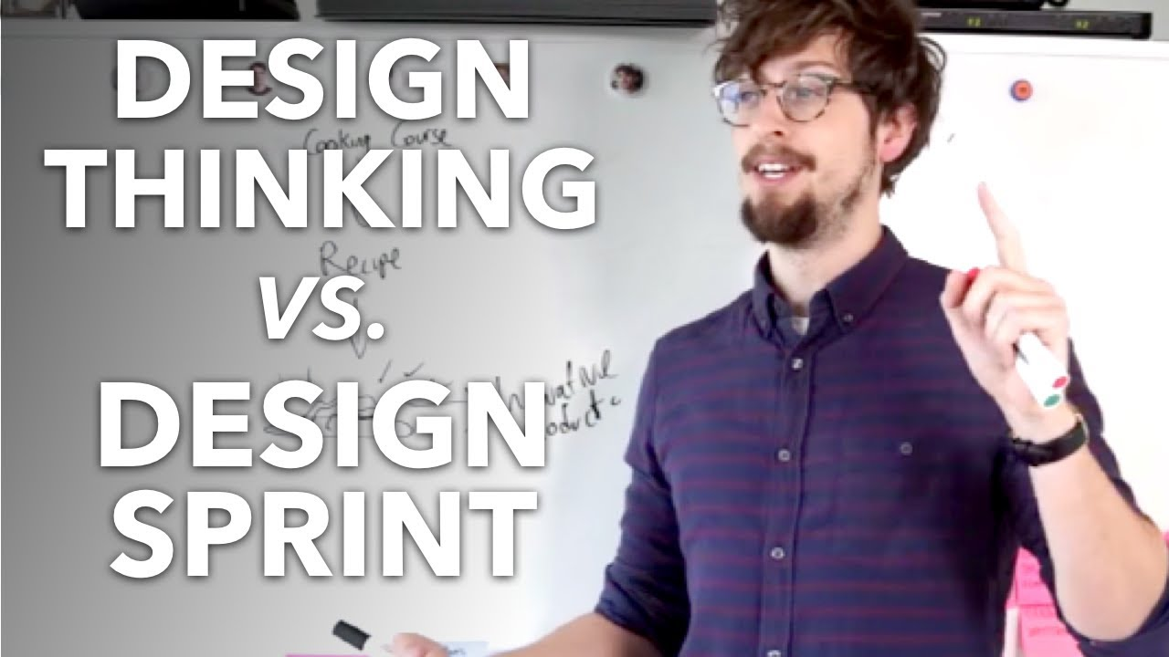 Design thinking vs design sprint what 39 s the difference for Waterfall vs design thinking