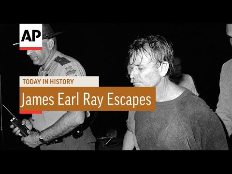 James Earl Ray Escapes - 1977 | Today In History | 11 June 17