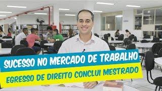 EGRESSO DE DIREITO CONCLUI MESTRADO