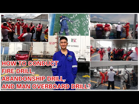 EXECUTING EMERGENCY DRILLS ONBOARD VESSEL | FIRE DRILL , ABANDONSHIP DRILL, AND MAN OVERBOARD DRILL