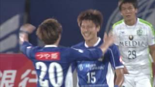 2017年7月22日(土)に行われた明治安田生命J2リーグ 第24節 山形vs湘...