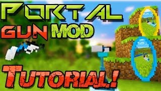 [Neu] Minecraft mods 1.7.10 ➠ Portal Gun Mod Installation - Windows + Mac | german Deutsch