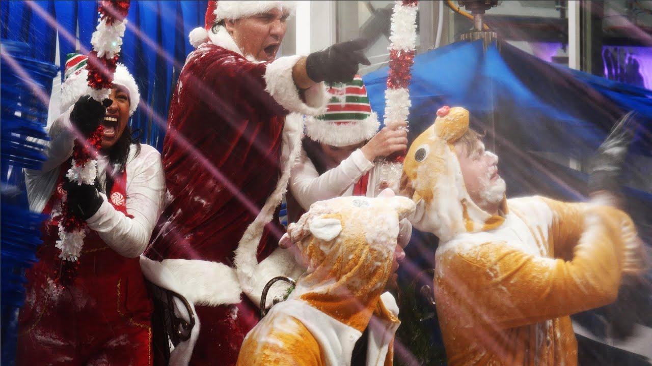Santa Takes Sleigh Through REAL Car Wash   Wett Car Wash Holiday Commercial 2020