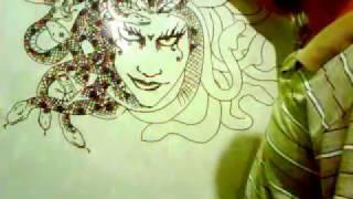 drawing medusa with mei cadika