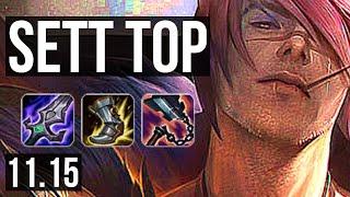 SETT vs MORDEKAISER (TOP) | 6 solo kills, 600+ games, 900K mastery | BR Diamond | v11.15
