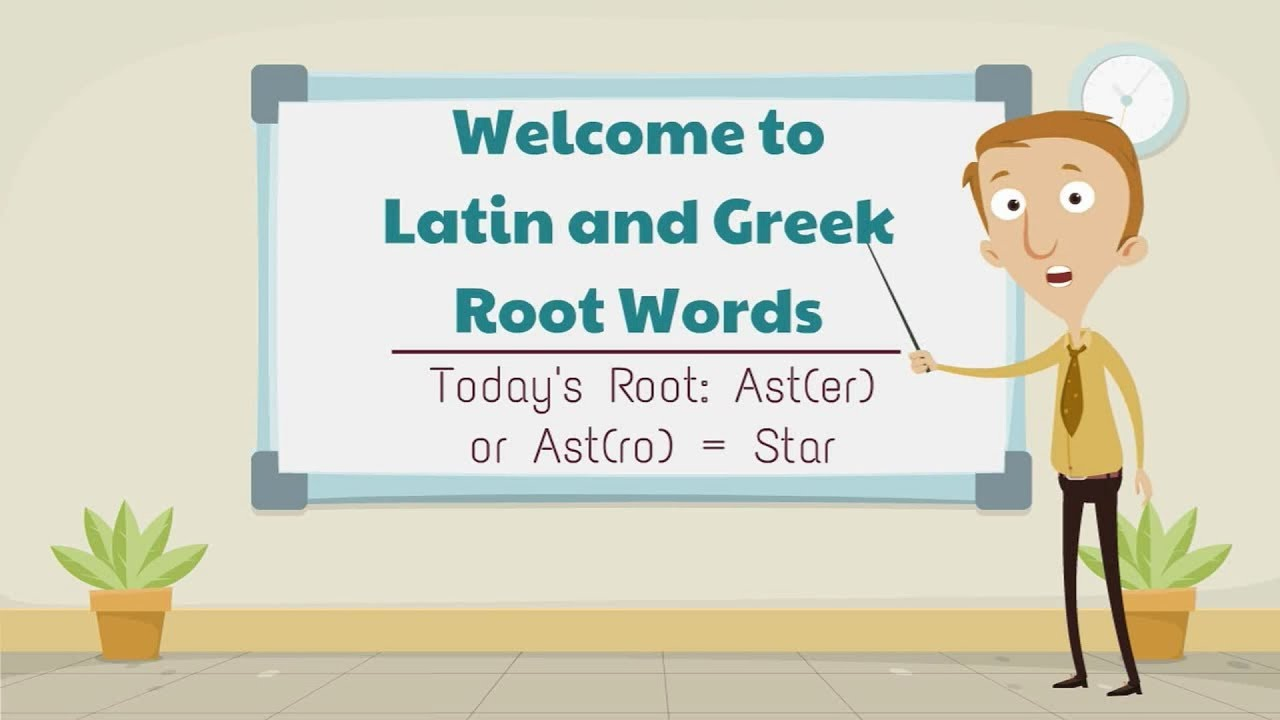 latin and greek root word astro aster star youtube