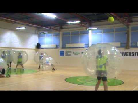 City College Plymouth Football Academy Bubble Football