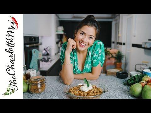 Dessert in 20 mins: Pear Crumble | TheCharlotteMei