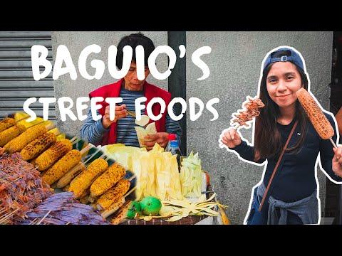 Food Hunting in Baguio PH (street food vlog 1)  2017