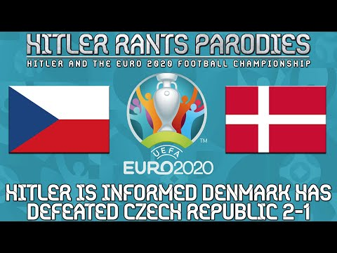 Hitler is informed Denmark has defeated Czech Republic 2-1