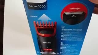 Philips BT405/15 Bartschneider Series 1000   UNBOXING Phillips BT 405/15